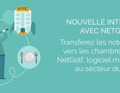 Winhôtel et Homing connectés à NetGolf