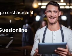 Interface CBP restaurant et application de réservation Guestonline