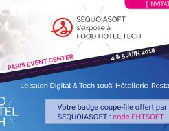 salon Food Hotel Tech : Sequoiasoft vous invite