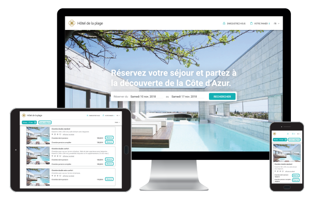 Booking engine asterio