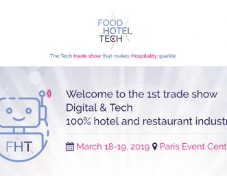 Meet us at Food Hotel Tech 2019