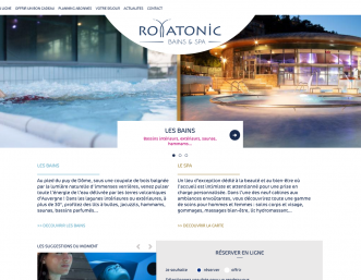 Royatonic-Enymphea collexion spa booking engine
